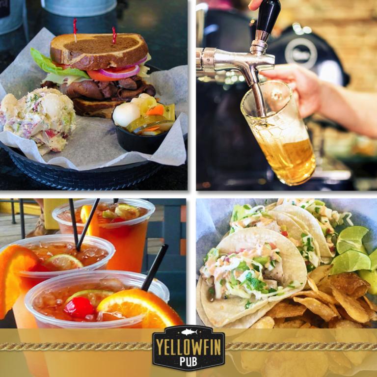 Waterfront Restaurant Morehead City NC | Sugarloaf Island Deli and Yellowfin Pub